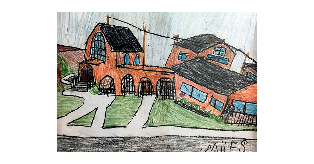 Rose Hall As Seen By One of Our Junior Artists